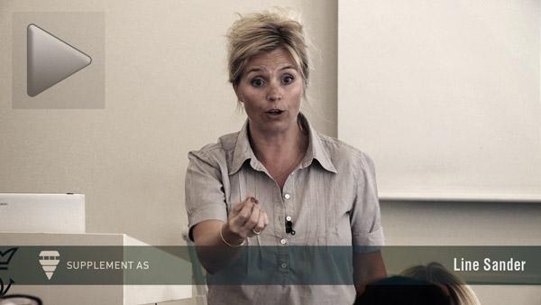 Undervisningsteknik. Line Sander